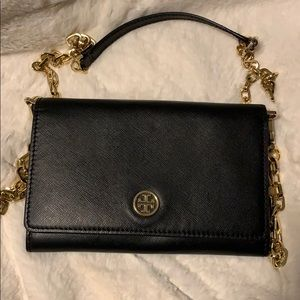 Tory Burch bag wallet on a chain